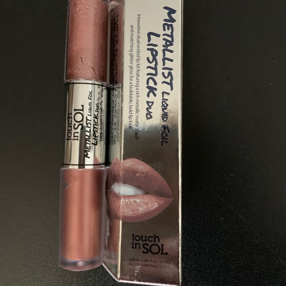 touch in SOL Other - Touch in Sol Metallist liquid foil Lipstick Duo